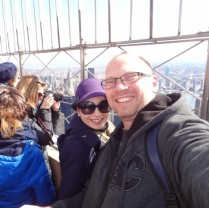 Empire State Building - Sam and I